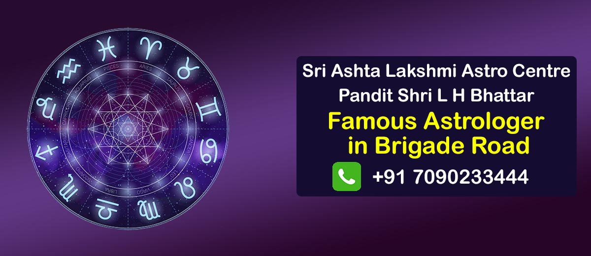 Famous Astrologer in Brigade Road